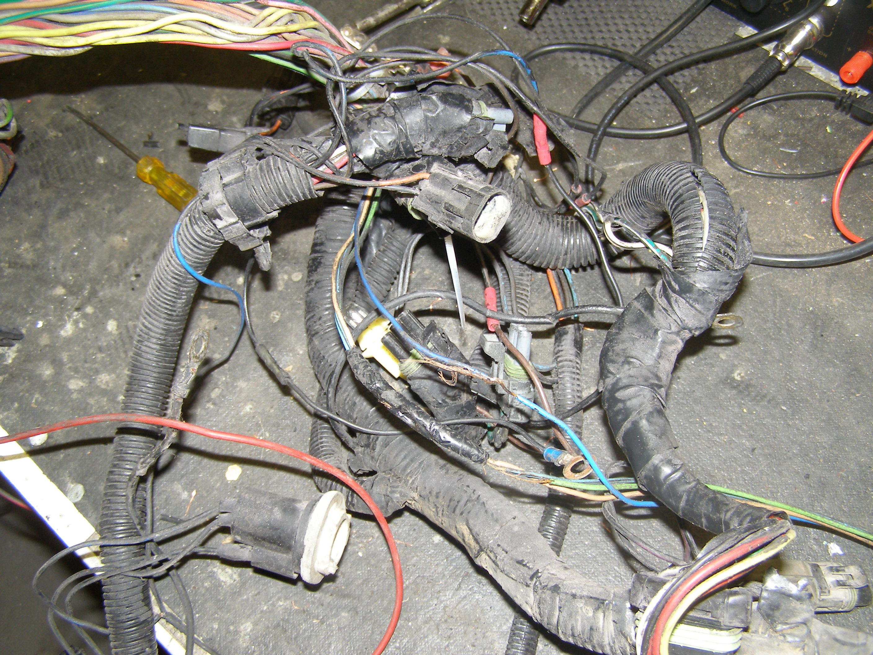Wiring Harness Restoration Repair Rebuilding Customizing Overhaul Early Fuel Injected Bad Splices