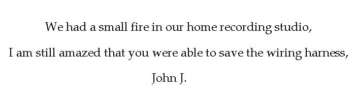 Customer John J Feedback